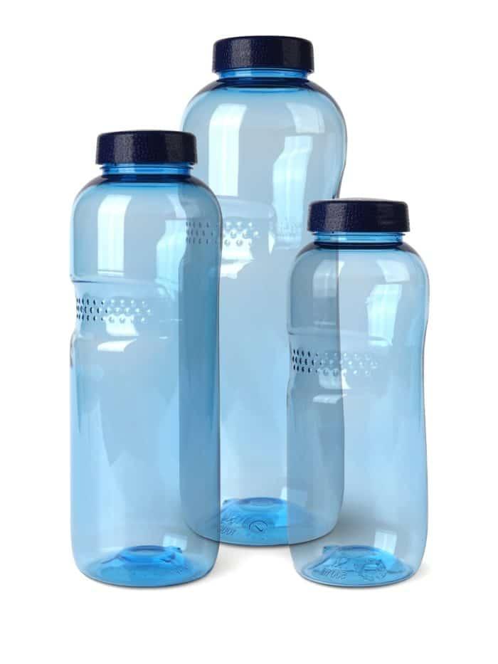Basic-Trinkflasche aus Tritan 1,0 l mit Lebensblumedeckel 1