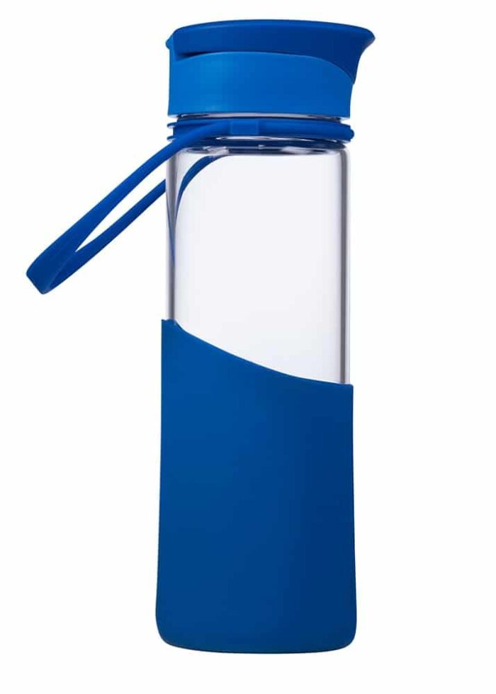 MIGO Trinkflasche 0,5 l aus Borosilikat-Glas 1