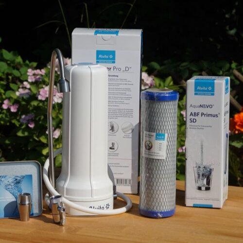 Kombi-Paket mit Alvito Auftischfilter Pro