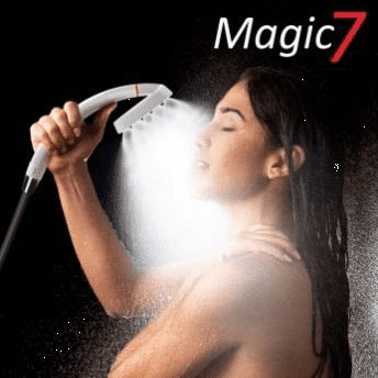 Wirbeldusche, Wirbelbrause, Wirbel duschkopf, Wasserspar brause, spardusche, Carat Aqua Plus Vitaldusche Magic, magic7 titan, magic7 ceramic, Magic7 Antilegionell, 4spin, 7spin, Sparbrause, von heimquell