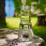 Edelsteine zur Informierung des Trinkwassers Heimquell