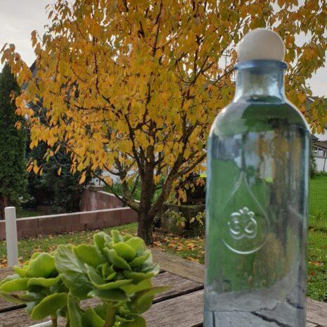 Wasserflasche OM mit Magnesit