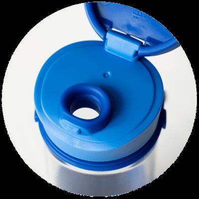 MIGO Trinkflasche 0,5 l aus Borosilikat-Glas 3
