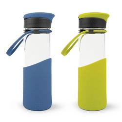 MIGO Trinkflasche 0,5 l aus Borosilikat-Glas 4