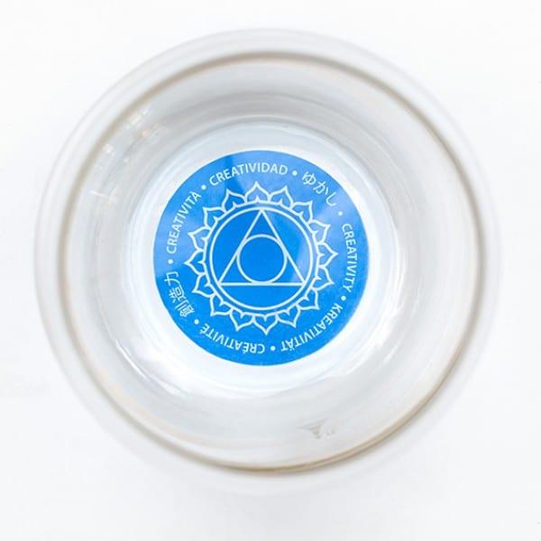 Trinkbecher Mythos - Hals-Chakra / Affirmation Kreativität 1