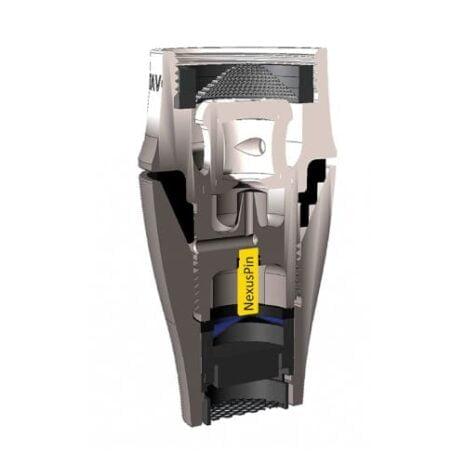 NEXUS Pin in Querschnitt von Vita Titan HeimQuell.com