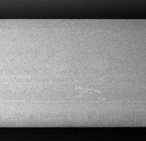 500 fache Vergrößerung der Membran des Blockfilter ABF Duplex SD Wasserfilter von HeimQuell.com