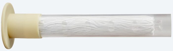 Membran des Wasserfilters Alvito ABF Duplex SD mit Kragendichtung und Schutzhülse
