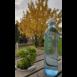 Om Wasserflasch mit Edelstein