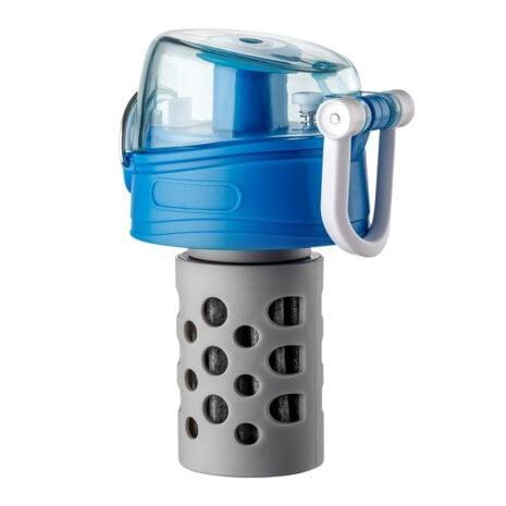 montierter Ersatzfilter für Water Vitalis Reisefilter